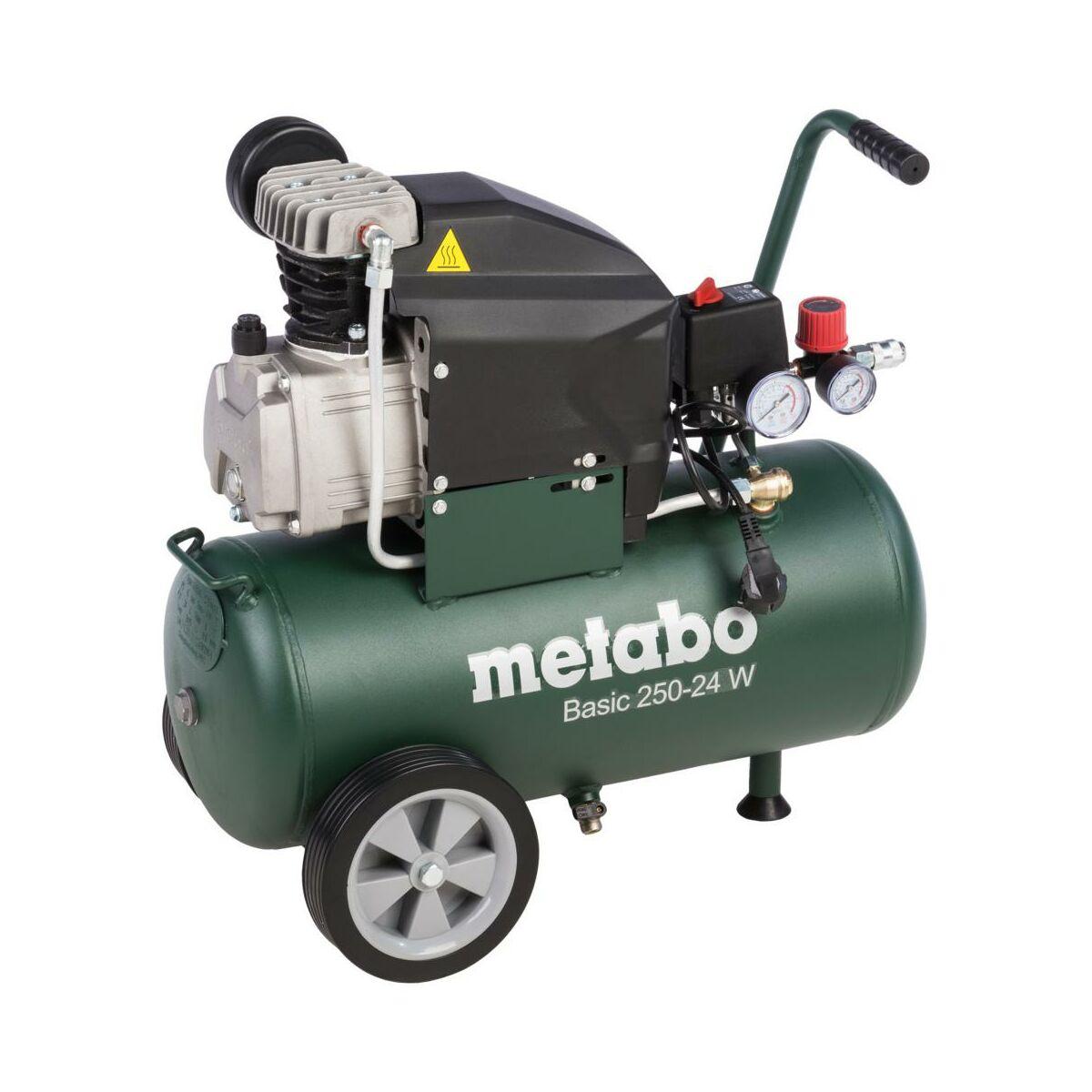 kompresor olejowy basic 250 24 w 24 l metabo kompresory w atrakcyjnej cenie w sklepach leroy. Black Bedroom Furniture Sets. Home Design Ideas
