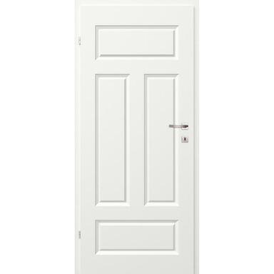 Skrzydło drzwiowe pełne MORANO I Białe 60 Lewe CLASSEN