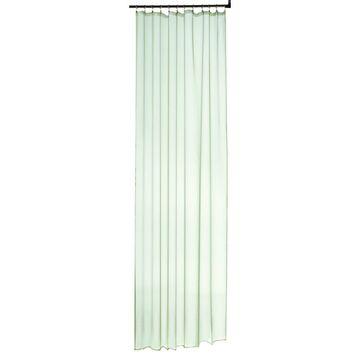 Firana na taśmie ATRIA 140 x 260 cm zielona INSPIRE