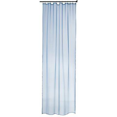 Firana na taśmie ATRIA 140 x 260 cm niebieska INSPIRE