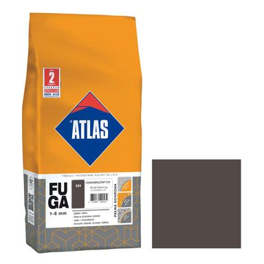 Fuga 024  ciemny brązowy  5 kg ATLAS