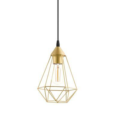 Lampa wisząca BYRON złota E27 INSPIRE