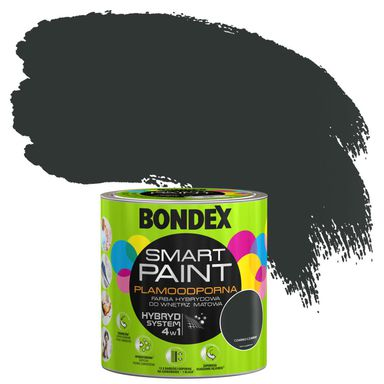 Farba wewnętrzna SMART 2,5 l Czarno czarny BONDEX