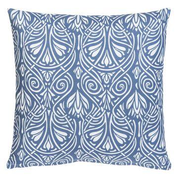Poduszka VASCO niebieska 40 x 40 cm INSPIRE