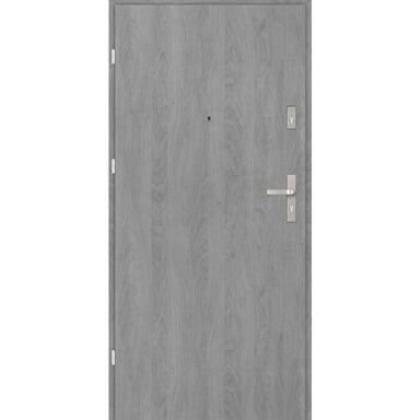 Drzwi wejściowe CASTELLO BASIC Grafit 80 Lewe EVOLUTION DOORS