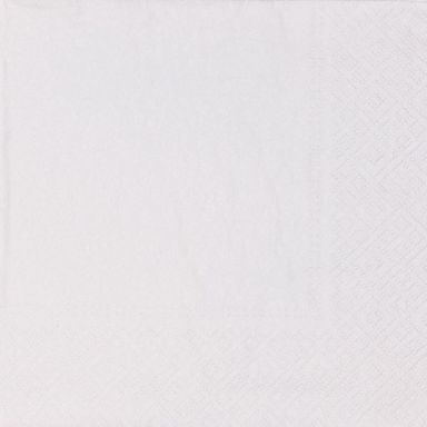 Serwetki UNICOLOR białe 33 x 33 cm 20 szt.