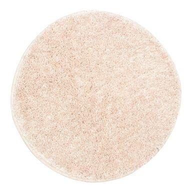 Dywan shaggy Evo pastelowy róż okrągły śr. 60 cm