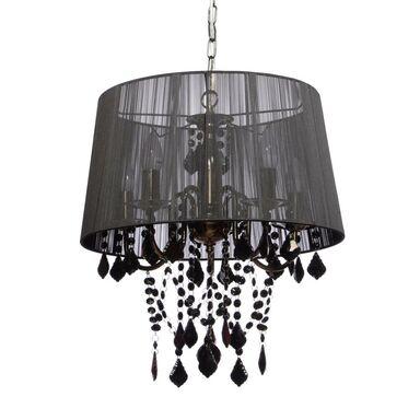 Lampa wisząca MONA czarna E14 LIGHT PRESTIGE
