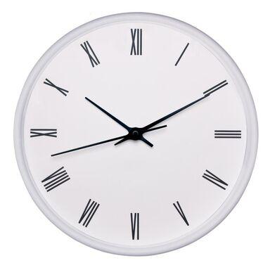 Zegar ścienny Easy śr. 22.5 cm biały