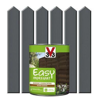 Impregnat do drewna EASY 0.75 l Antracytowy V33