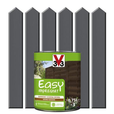 Impregnat do drewna EASY 0,75 l V33