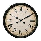 Zegar ścienny VINTAGE śr. 50 cm brązowy