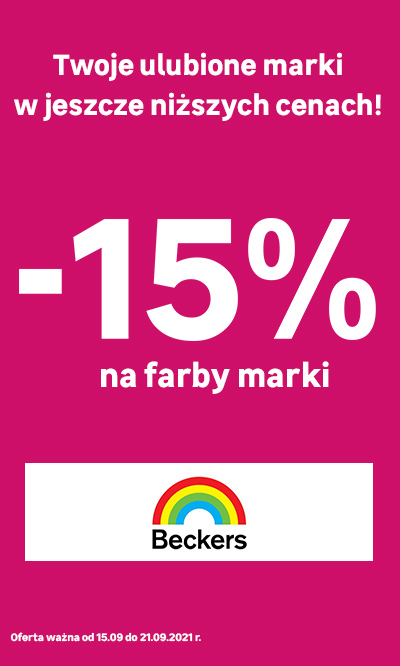 Beckers -15%