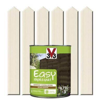 Impregnat do drewna EASY 0.75 l Biały V33
