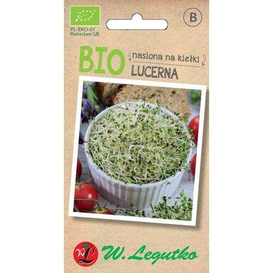Lucerna BIO nasiona na kiełki ekologiczne 5 g W. LEGUTKO