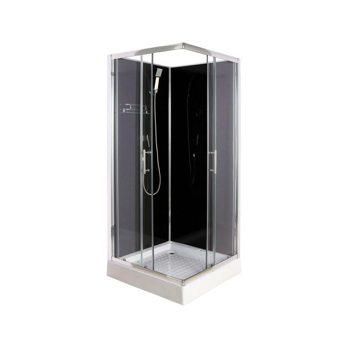 Kabina Prysznicowa Liza 80 X 80 X 200 15 Ckr Kabiny Prysznicowe W Atrakcyjnej Cenie W Sklepach Leroy Merlin