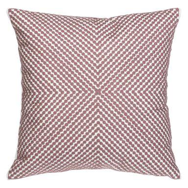 Poduszka TITO różowa 45 x 45 cm INSPIRE