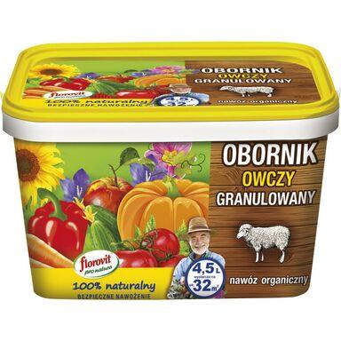 Nawóz organiczny 4.5 l obornik owczy granulowany FLOROVIT