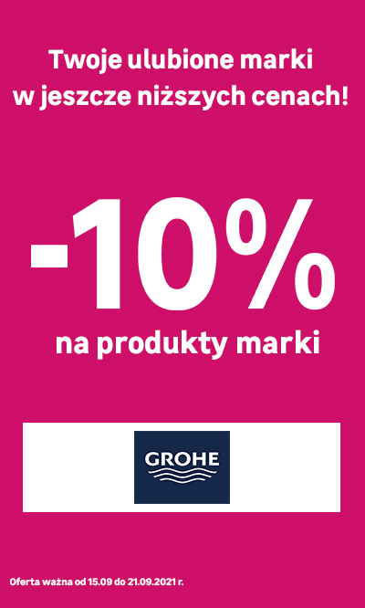 Grohe -10%