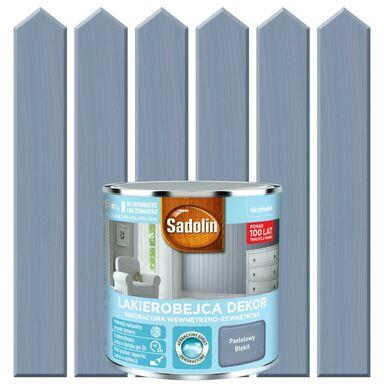 Lakierobejca do drewna DEKOR 0.25 l  Pastelowy błękit SADOLIN
