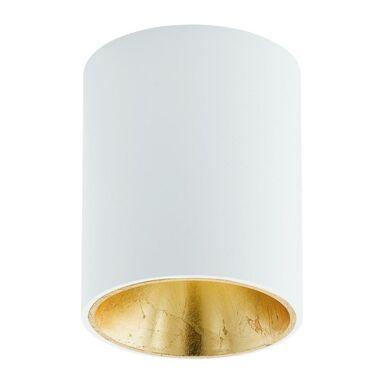Oprawa stropowa natynkowa POLASSO biało-złota LED EGLO