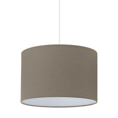 Lampa wisząca SITIA 29 cm taupe E27 INSPIRE