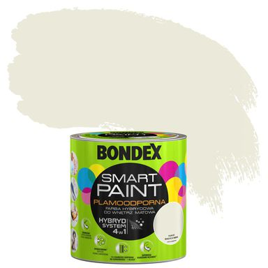 Farba wewnętrzna SMART 2,5 l Tupot białych mew BONDEX