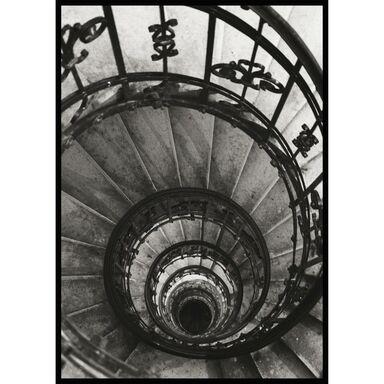 Obraz Schody Okrągłe 70 x 100 cm