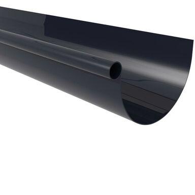 Rynna dachowa ryflowana G125 Grafitowa 3 m SCALA PLASTICS
