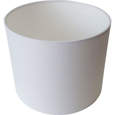 Abażur 9971 walec 30 x 20 cm tkanina biały E27 TK LIGHTING