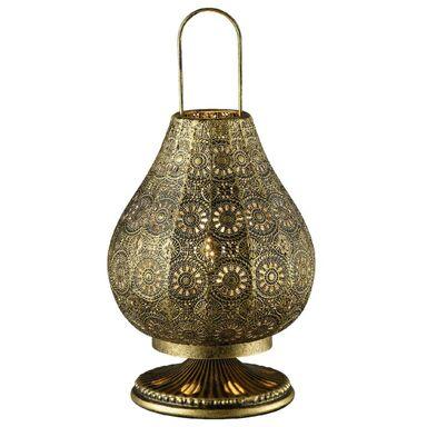 Lampa stołowa JASMIN patyna E14 TRIO LIGHTING INTER