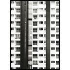 Obraz Biały Blok 70 x 100 cm