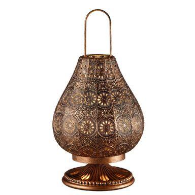 Lampa stołowa JASMIN miedź E14 TRIO LIGHTING INTER