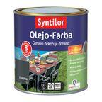Olejo-Farba do mebli ogrodowych 0.5 l Grafitowa SYNTILOR