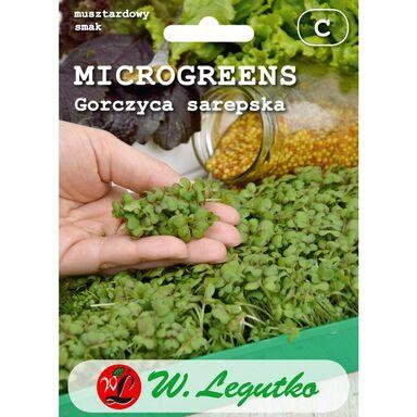 Gorczyca sarepska nasiona tradycyjne 3 g W. LEGUTKO