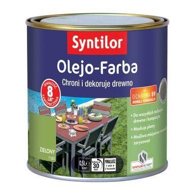 Olejo-Farba do mebli ogrodowych 0.5 l Zielona SYNTILOR