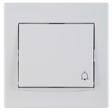 Przycisk dzwonek ANYA  biały  SCHNEIDER