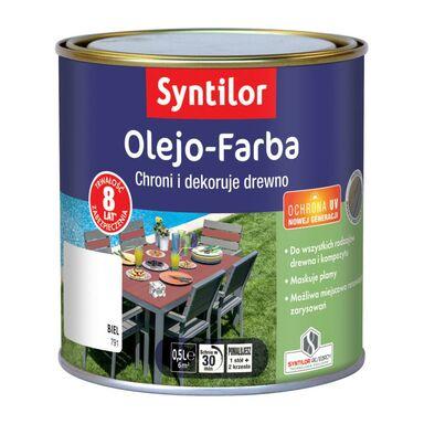 Olejo-Farba do mebli ogrodowych 0.5 l Biel SYNTILOR