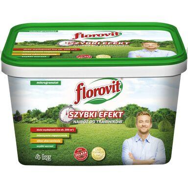 Nawóz do trawnika 4 kg SZYBKI EFEKT FLOROVIT