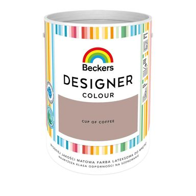 Farba wewnętrzna DESIGNER COLOUR 5 l Cup Of Coffee BECKERS