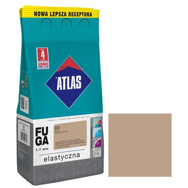 Fuga cementowa 020  beżowy  5 kg ATLAS