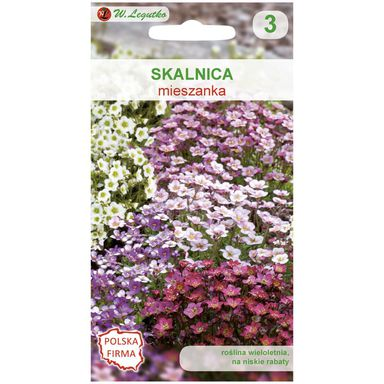 Nasiona kwiatów MIESZANKA Skalnica W. LEGUTKO
