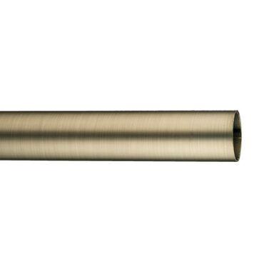 Drążek do karnisza 160 cm antyczna stal 19 mm metalowy