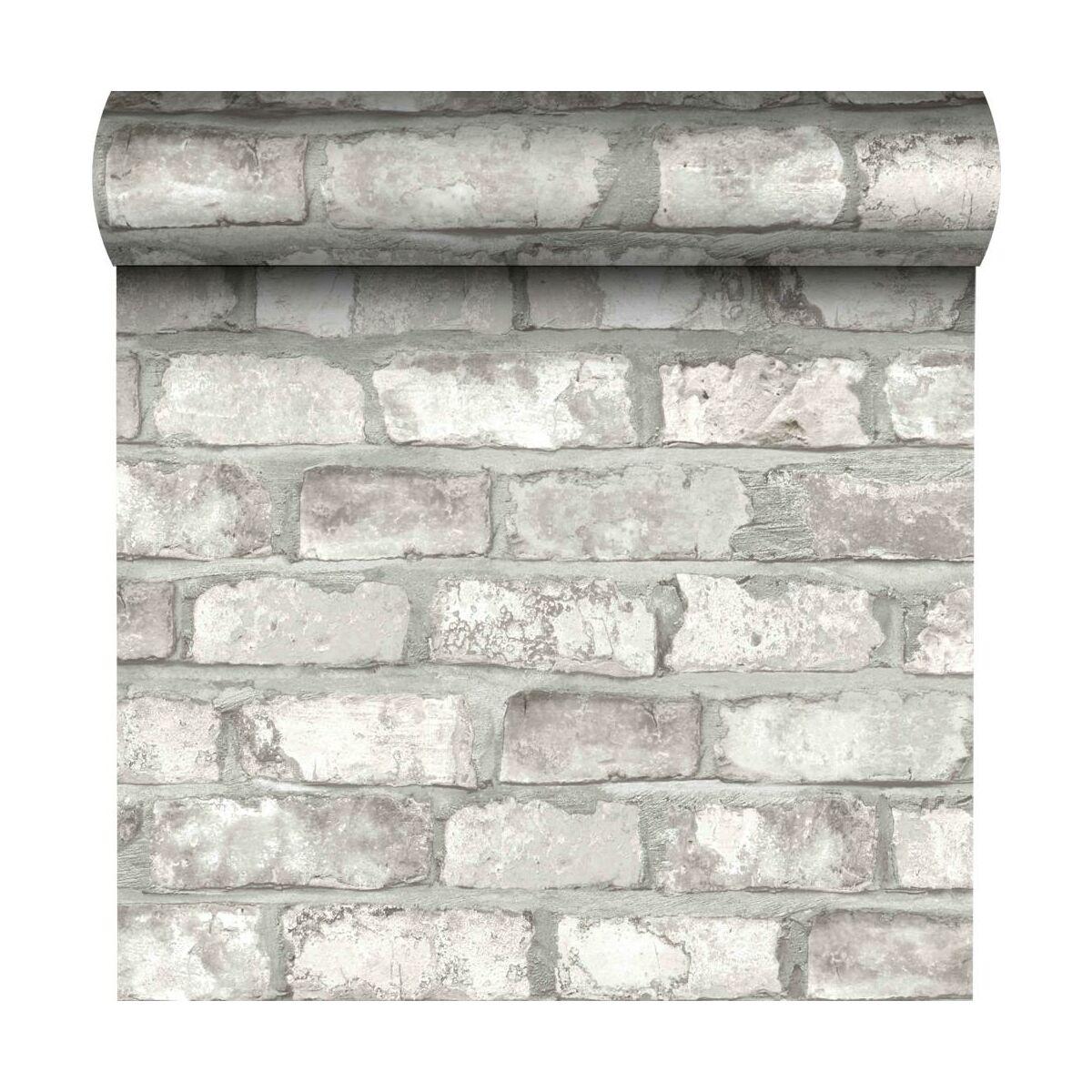 Tapeta White Brick 3d Biala Imitacja Cegly Winylowa Na Flizelinie Inspire Tapety W Atrakcyjnej Cenie W Sklepach Leroy Merlin