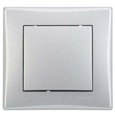 Włącznik pojedynczy schodowy SEDNA  Srebrny aluminowy  SCHNEIDER