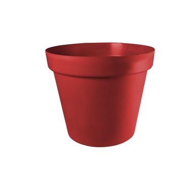 Doniczka plastikowa 11 cm czerwona PATIO PATROL