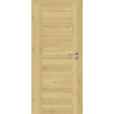 Skrzydło drzwiowe pełne Etna Dąb piaskowy 80 Lewe Artens