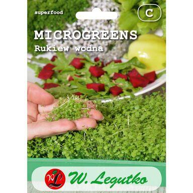 Rukiew wodna microgreens W. LEGUTKO