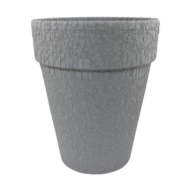Doniczka gliniana 26 cm grafitowa T-143-782-26 CERMAX