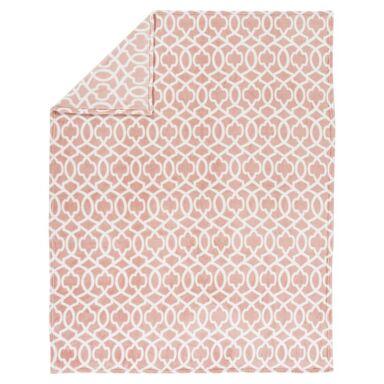 Pled FREDDO różowy 130 x 170 cm